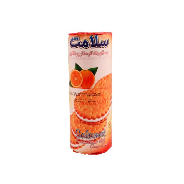 بیسکویت سلامت کرمدار پرتقالی 400 گرمی