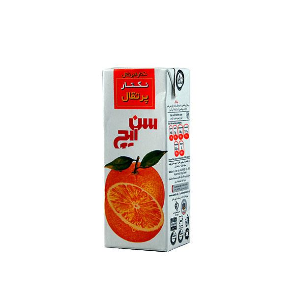 آبمیوه نکتار پرتقال سن ایچ 200 میلی لیتر