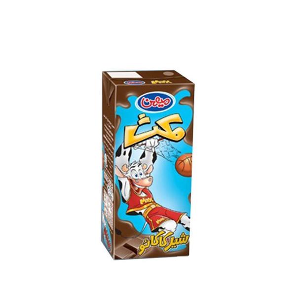شیر کاکائو مکث 200 میلی لیتری میهن