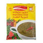 سوپ سبزیجات ۶۵ گرمی آمادهلذیذ