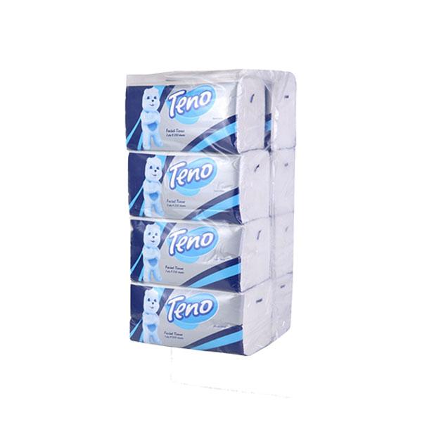 دستمال کاغذی بسته اقتصادی 250 برگ تنو (بسته 8 عددی)