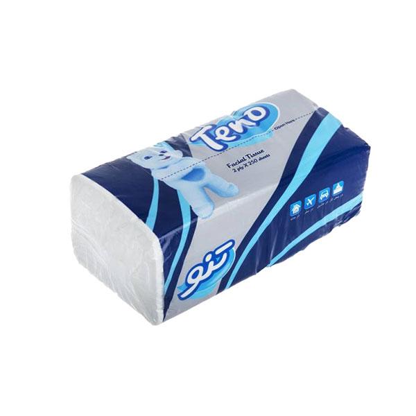 دستمال کاغذی اقتصادی 250 برگ تنو