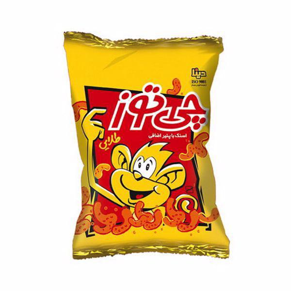 اسنک (پفک) طلایی ویژه چی توز (60 گرمی)
