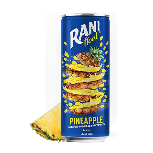 نوشیدنی آناناس با تکه های میوه رانی (240 میلی لیتر)
