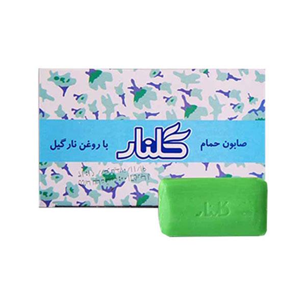 صابون گلنار سبز (بسته 6 عددی)