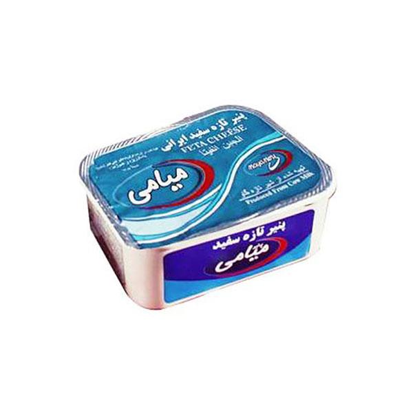 پنیر سفید تازه ایرانی میامی (370 گرمی)