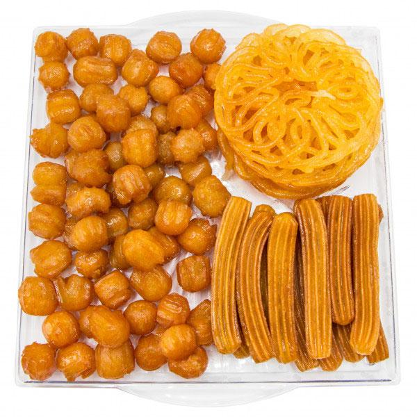 زولبیا و بامیه مخلوط (نیم کیلو)