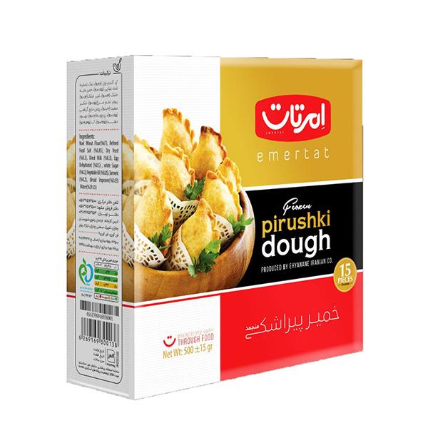 خمیر پیراشکی امرتات