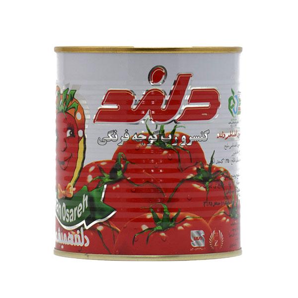رب گوجه فرنگی 800 گرمی دلند