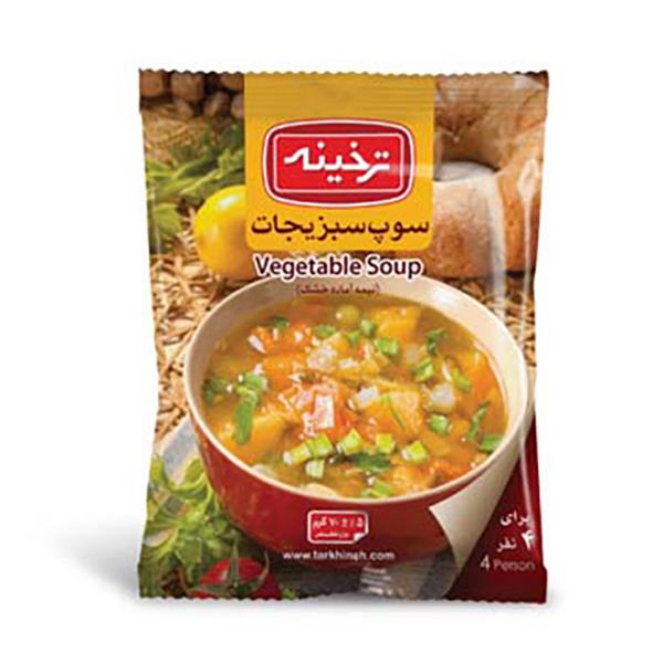 سوپ سبزیجات ترخینه