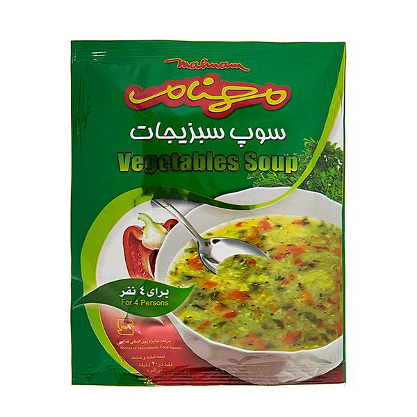سوپ سبزیجات مهنام