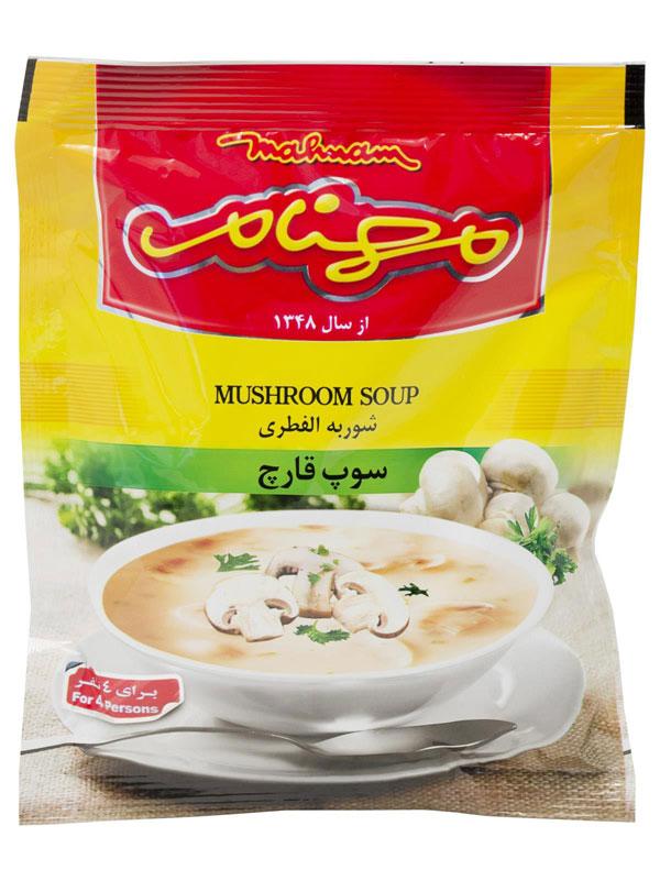 سوپ قارچ مهنام