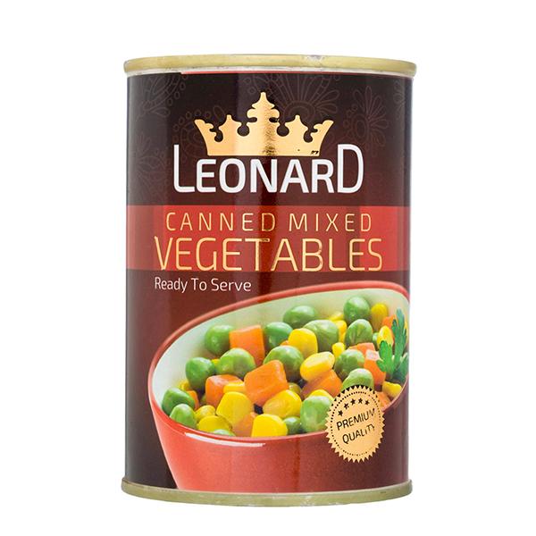 کنسرو سبزیجات لئونارد