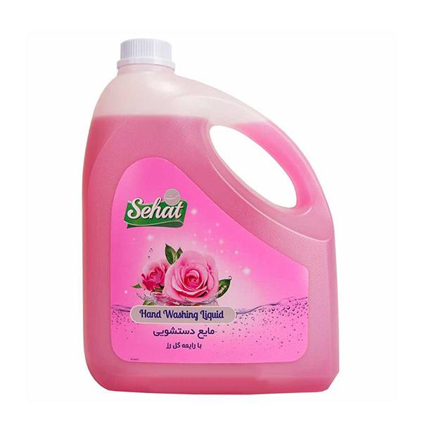 مایع دستشویی صحت با رایحه گل رز 4 لیتری