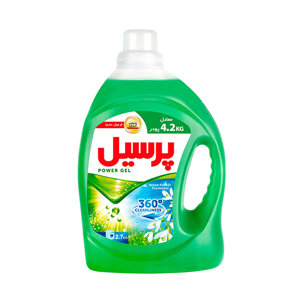 مایع لباسشویی گل های سفید کنسانتره پرسیل ۲۷۰۰ گرمی