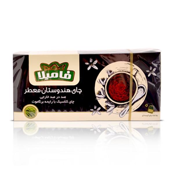 چای کیسه ای فامیلا 25 عددی