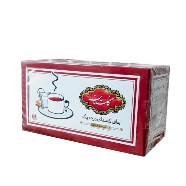 چای کیسه ای گلستان 25 عددی