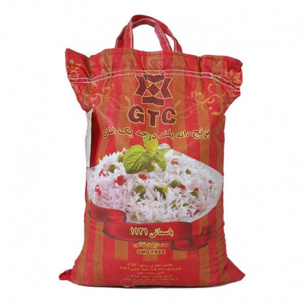 برنج هندی دانه بلند ۱۱۲۱ جی تی سی (۱۰ کیلو گرم)