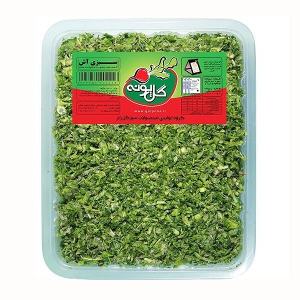 سبزی آش منجمد گلپونه 400گرمی