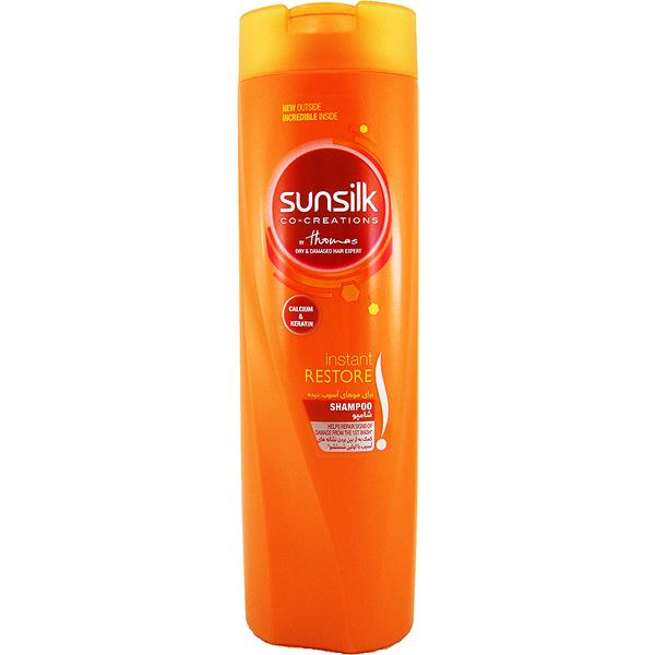 شامپو سان سیلک مناسب موهای آسیب دیده (۶۰۰ میلی لیتر)