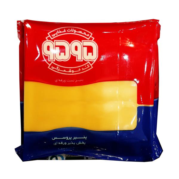 پنیر ورقه ای پروسس پخش پذیر (منجمد) 9595 بسته 180 گرمی