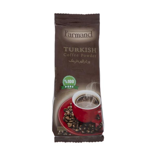 پودر قهوه ترک فرمند (100 گرم)