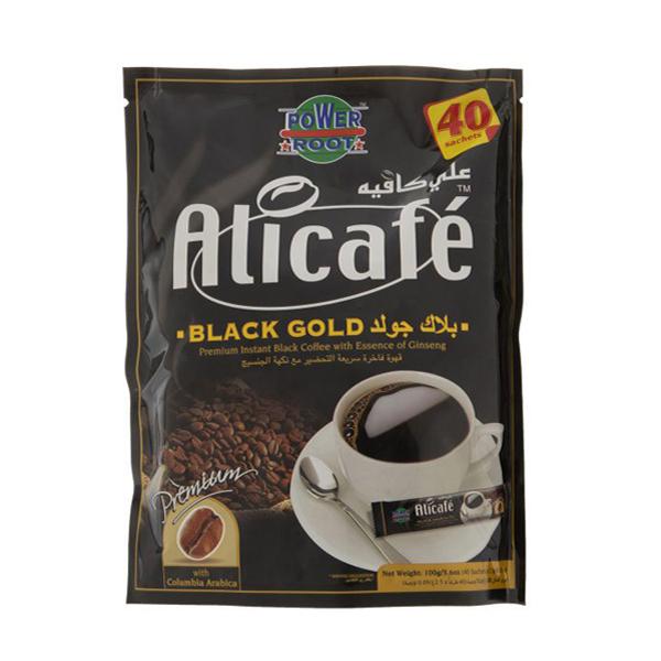 کافی میکس قهوه فوری علی کافه (بسته 40 عددی)