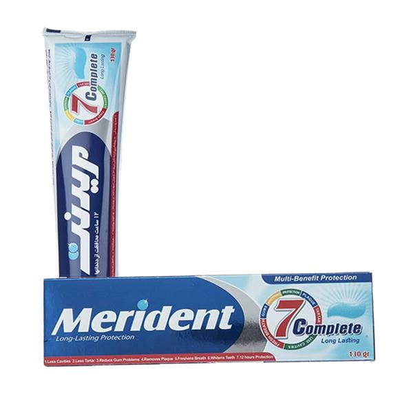 خمیر دندان سفید کننده مریدنت مدل 7 Complete کامل (130 گرم)