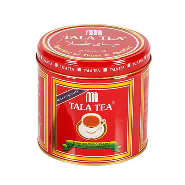 چای سیاه کله مورچه ای طلا قوطی فلزی 500 گرمی