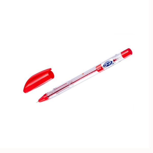 خودکار قرمز نوک 0.7 کیان مدل صفا