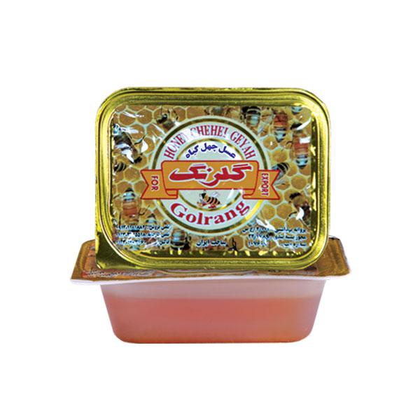 عسل چهل گیاه تک نفره 25 گرمی گلرنگ