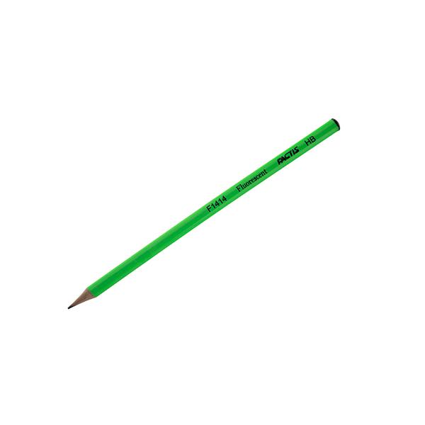 مداد سیاه (مشکی) فکتیس سبز فسفری