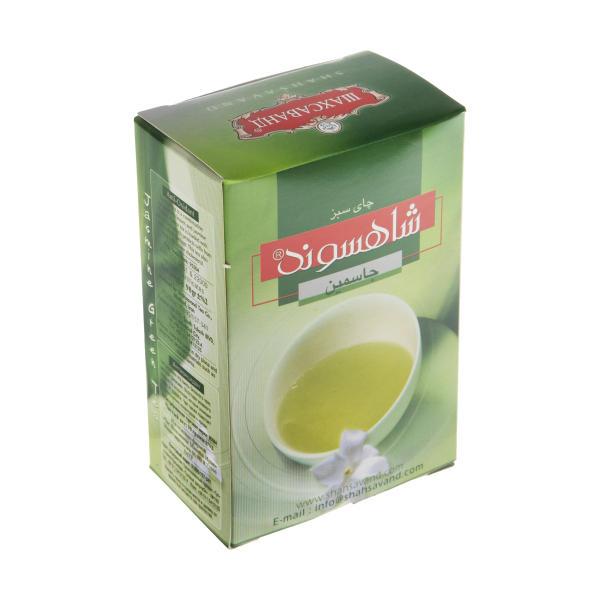 چای سبز جاسمین 100 گرمی شاهسوند