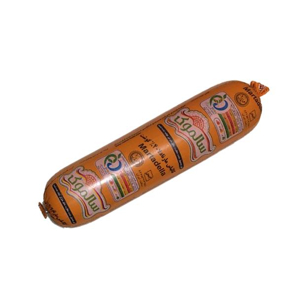 کالباس مارتادلا خانواده 40% گوشت (مقدار حدود 390 گرم)