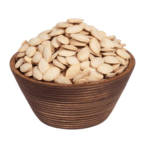 تخمه کدو گوشتی پوست نازک شور فله نیم کیلویی (مقدار 500 گرم)