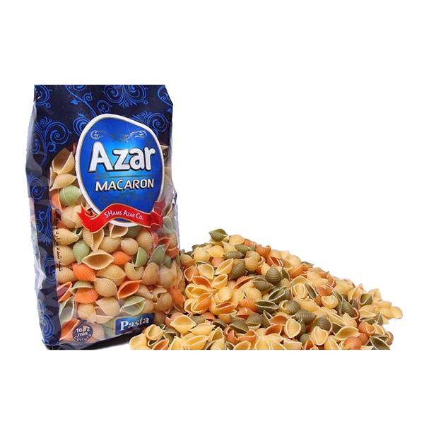 ماکارونی فرمی صدفی آذر با طعم سبزیجات (500 گرم)
