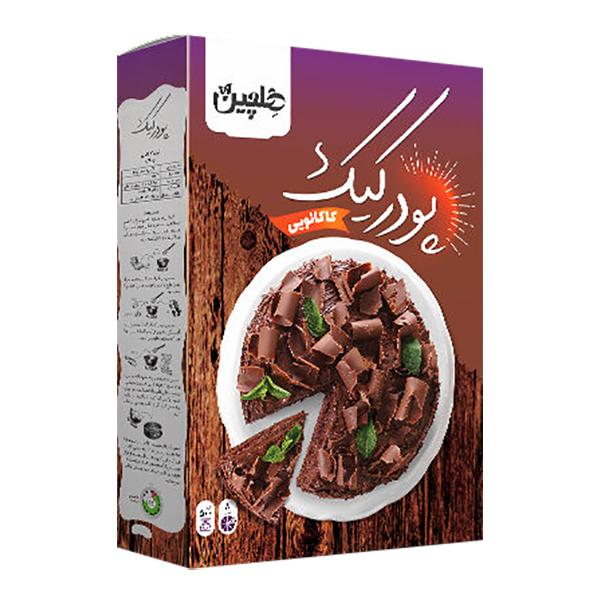 پودر کیک کاکائویی (شکلاتی) هلچین (450 گرم)