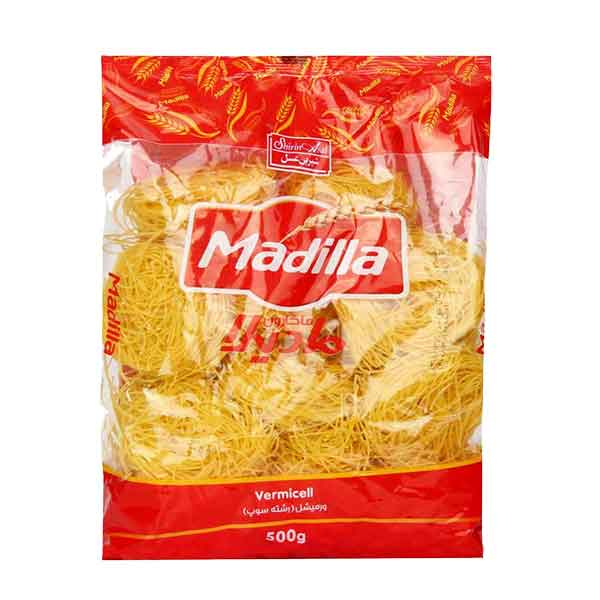رشته سوپی (ورمیشل) مادیلا ماکارون 500 گرمی شیرین عسل
