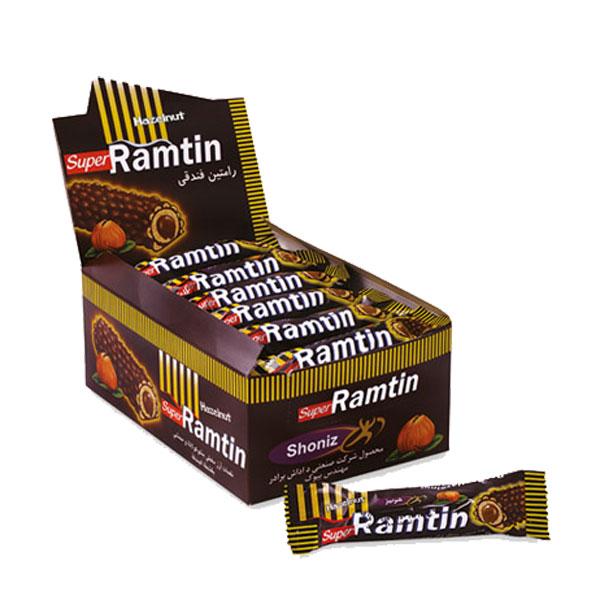 شکلات رامتین فندقی (بسته 24 عددی)