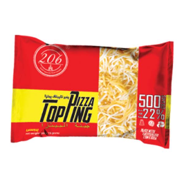 پنیر پیتزا پروسس رنده شده 500 گرمی 206