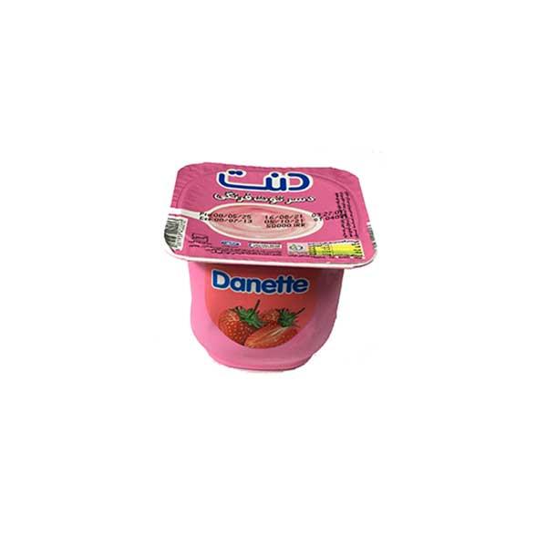 دسر توت فرنگی دنت (100 گرمی)